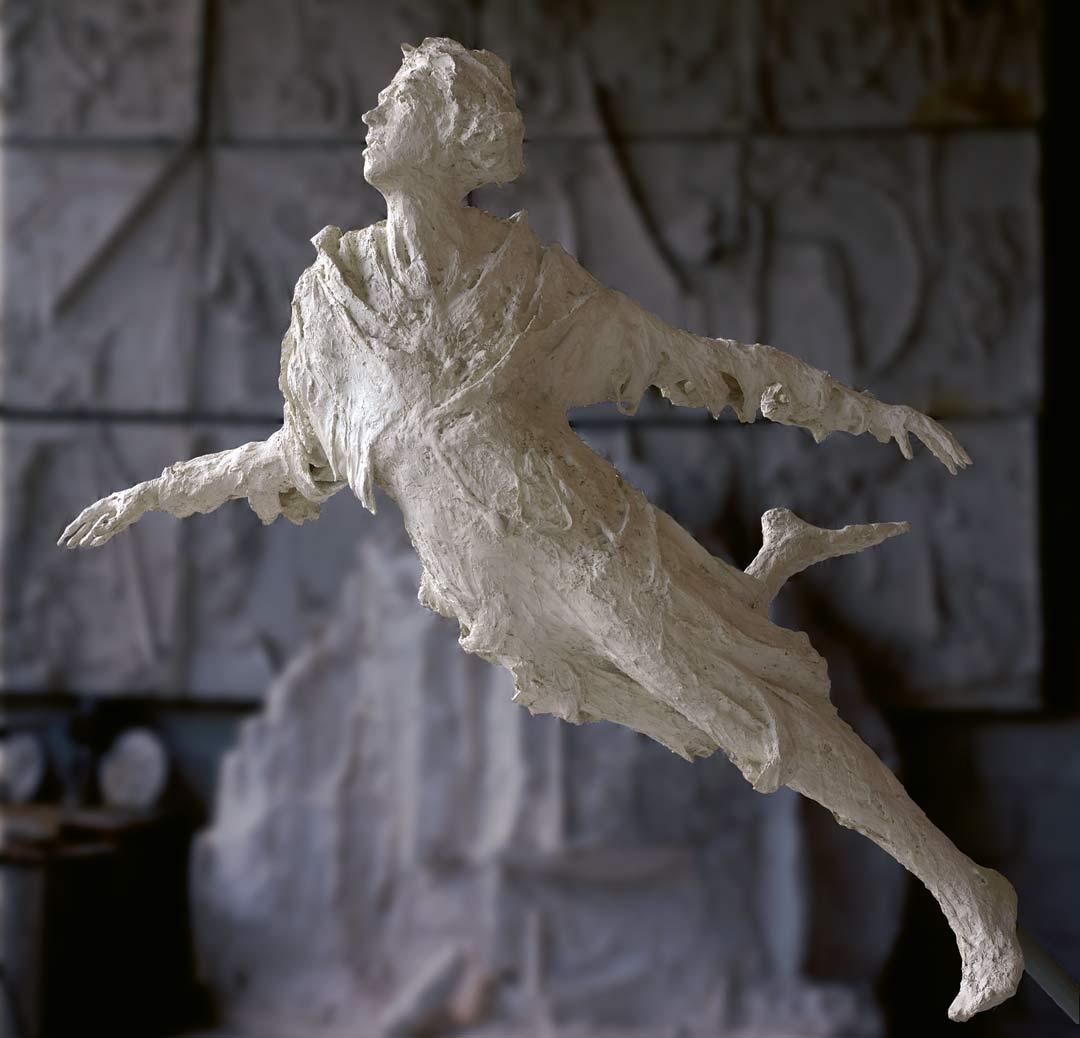 ARIEL - 1986 - résine - 160x160x70cm