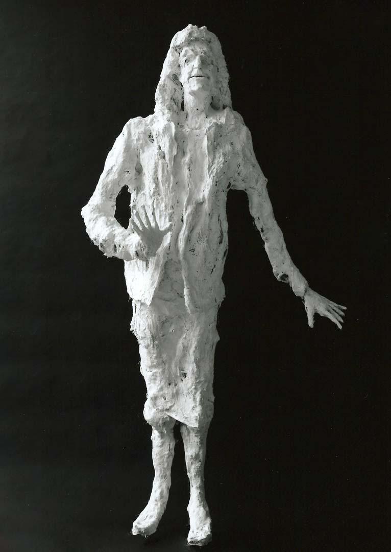 DARTHEA - 1996 - plâtre - 194x105x60cm