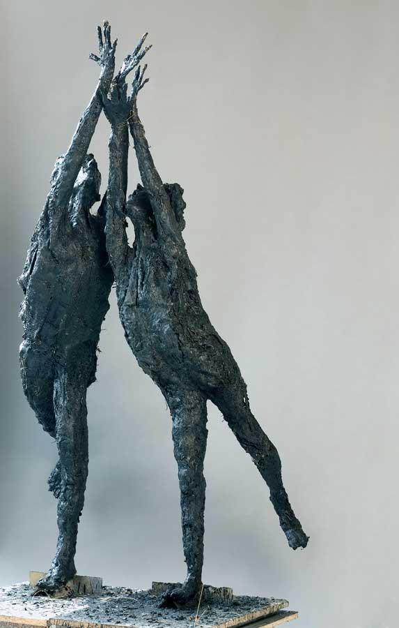 ELAN A DEUX - 204 - bronze - 40x17x20,5cm