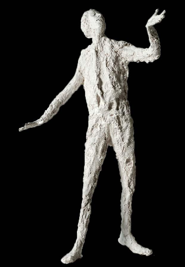 L'EVEILLE - 2012 - résine - 90x65x74cm