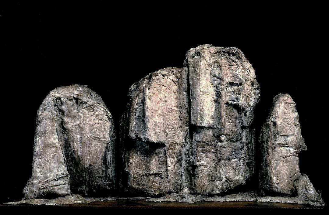 LA GRANDE FALAISE - 2000 - bronze - 68x133x38cm