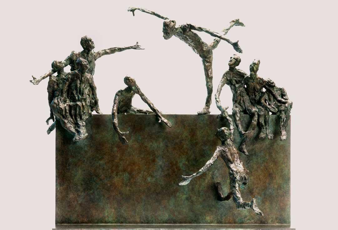 LE NOUVEAU MUR - 2011 -bronze -