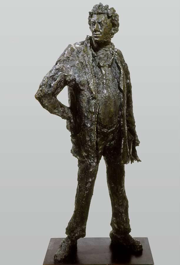 RIOPELLE - LE GRAND JEAN-PAUL – 2002 – bronze – 94x100x50cm – commande Ville de Montréal (Canada)