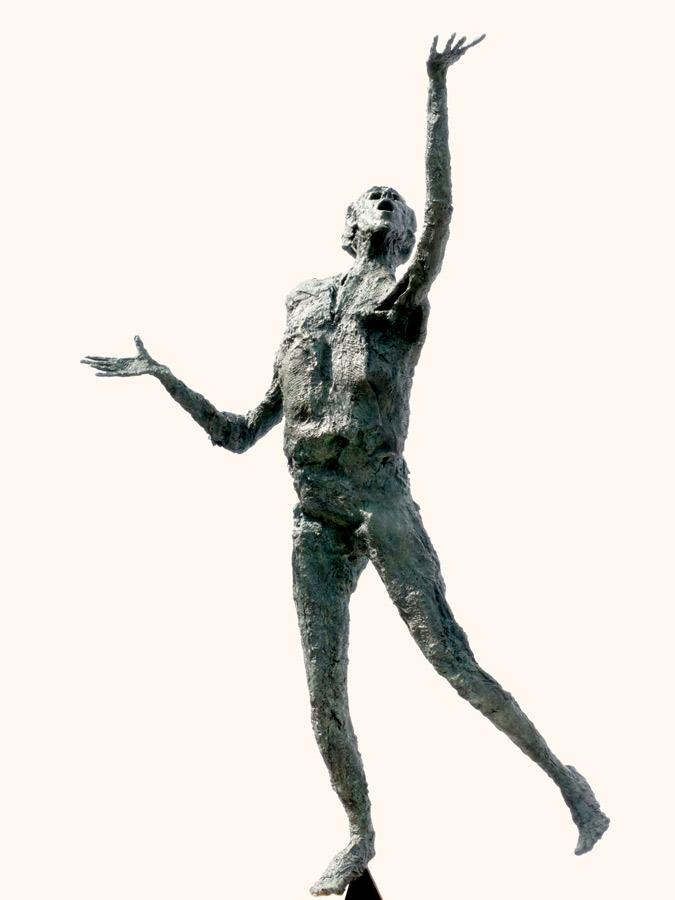LE GRAND ARDENT - 2009 - bronze - 196x156x72cm