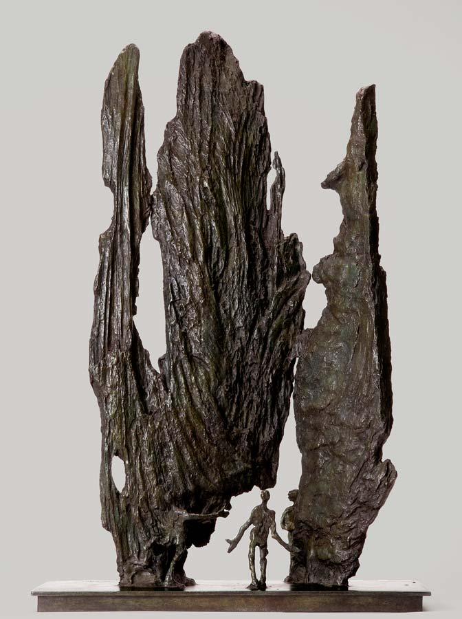 OLINDA 1 - 2012 - bronze - 53x16,5x36cm