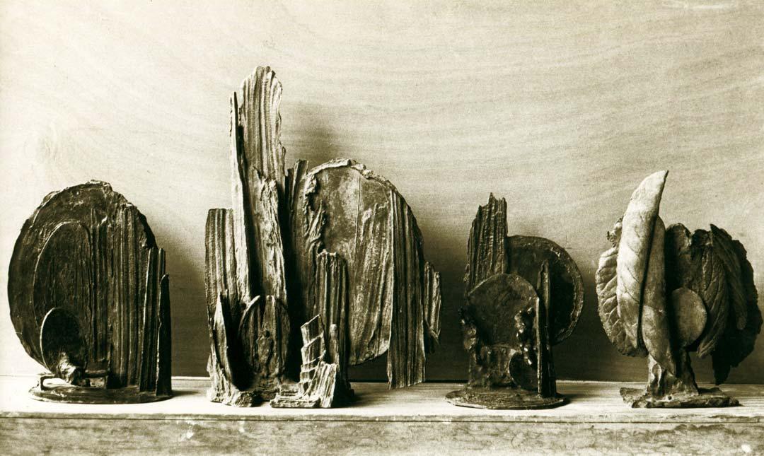 PETITS PAYSAGE - 1980 - bronze