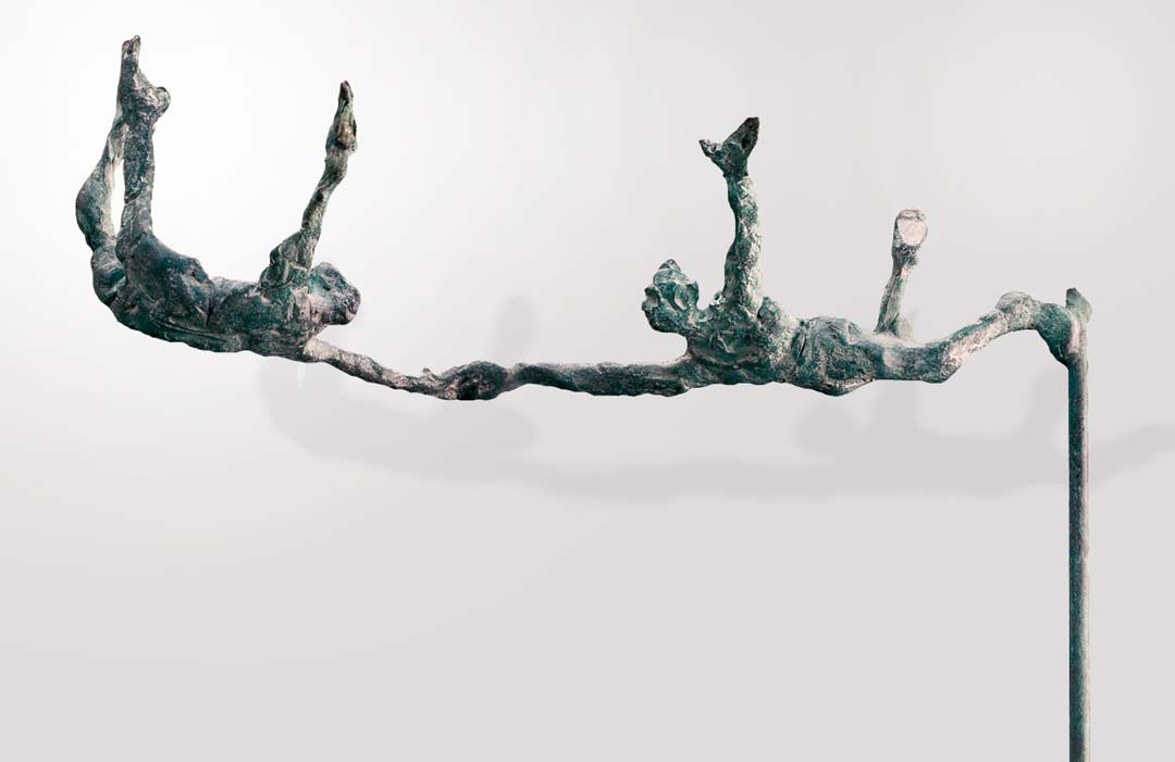 PETITS TRAPÉZISTES - 1992 - bronze 26x16x5,5cm