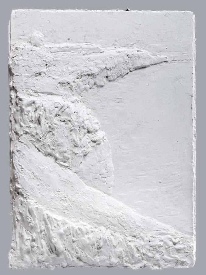 VERS FÉCAMP - 2015 - plâtre - 41x29cm