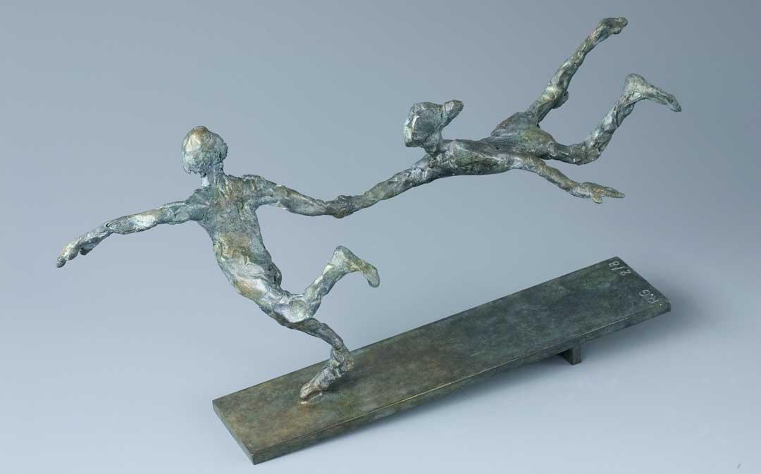 VITE VITE - 2006 - bronze - 12,5x25x6,5cm