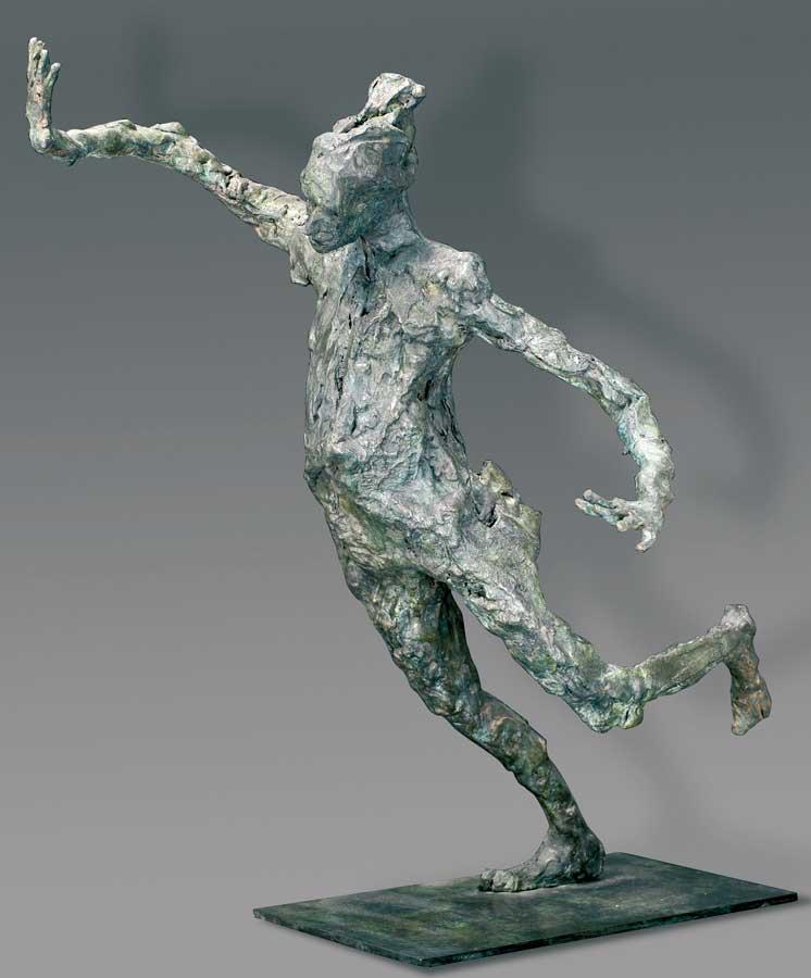 AVANT LA CHUTE - 2003 - bronze - 50x45x32cm