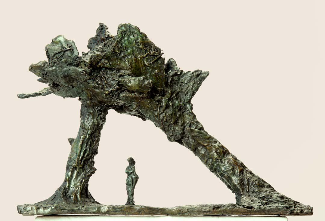BAISER - 2014 - bronze - 15x6,5x4,5cm