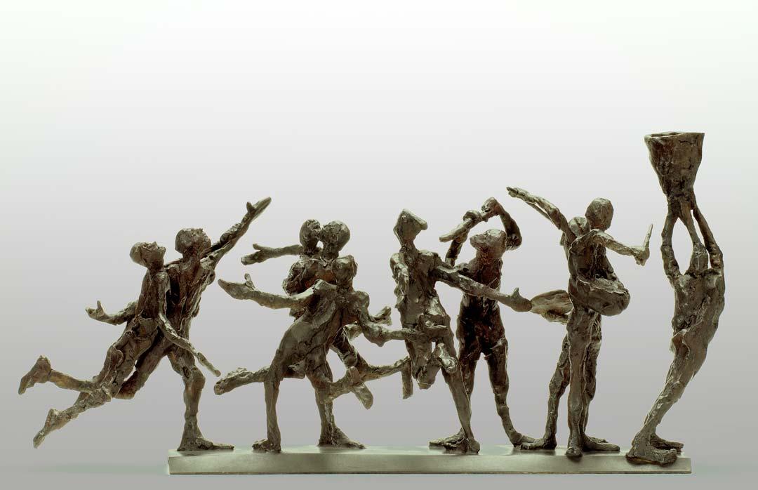 CORTEGE N°1 - 2011 - bronze - 23,5x52x26