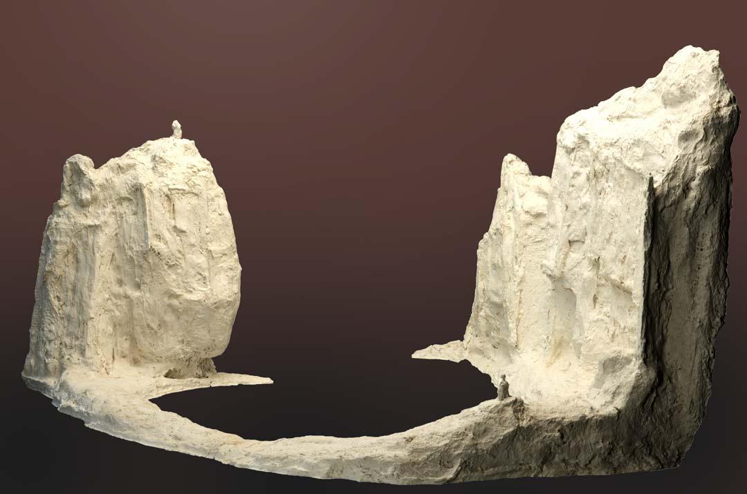 FALAISE INTÉRIEURE - 2014 - résine - 73x111x108cm