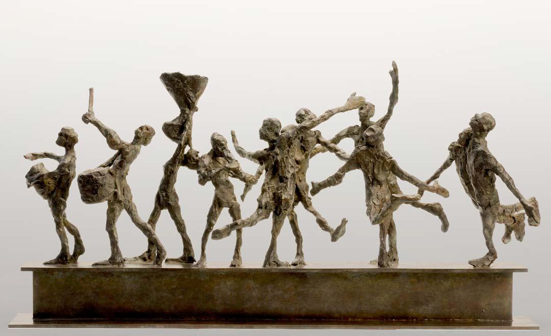 PETIT CORTEGE N°2 - 2012 - bronze -