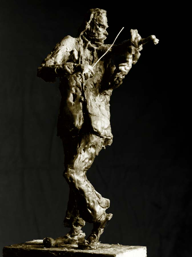 LE VIRTUOSE - 1988 - bronze - 29,5x13x13cm